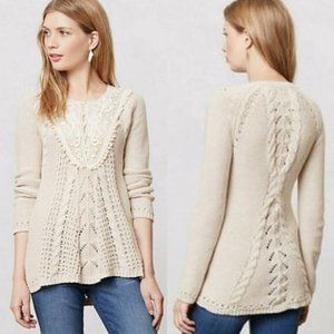 Anthropologie Angel of the North Adelaide Sweater